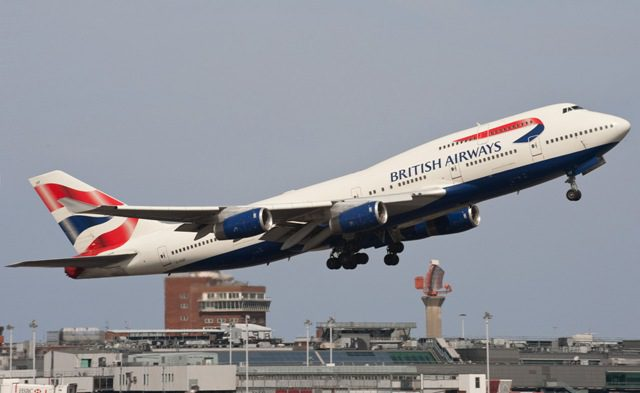 British Airways inaugura voos entre Santiago e Londres