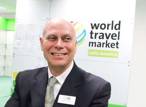"Lawrence Reinisch, diretor da WTM: ""manteremos o evento no Expo-Center Norte"""