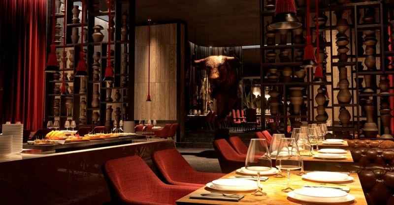 Os destaques do resort incluem experiências culinárias internacionais em quatro restaurantes à la carte, como o restaurante Espanhol