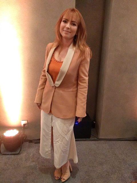 Halina Sanchez, arquiteta do hotel